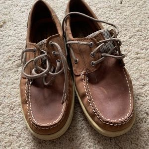 Men's 10.5 leather Sperrys